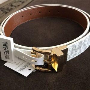 Michael Kors reversible belt size medium